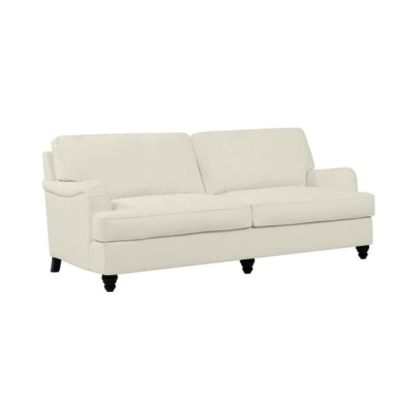 Handy Living Sommers Modern Classic Creamy White Brushed ...