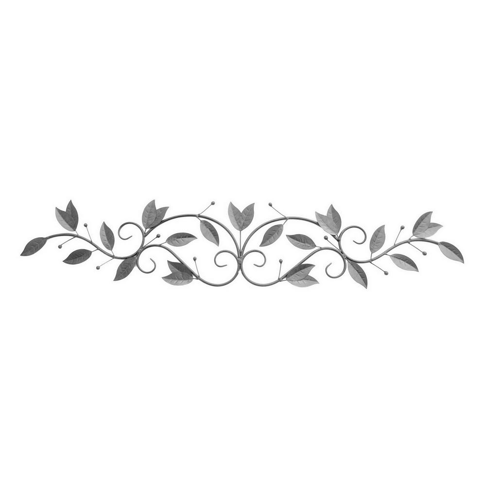 Three Hands 1125 In Metal Leaf Wall Art 87889 The Home Depot