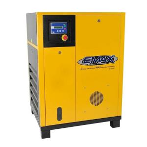 EMAX Premium Series 30 HP 3-Phase Stationary Electric Rotary Screw Air Compressor by EMAX