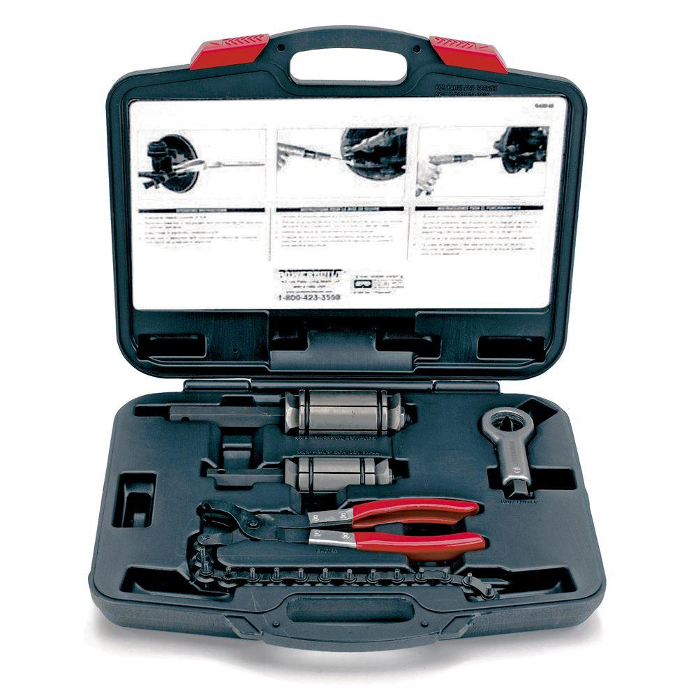Home Depot Special Order Catalog: Powerbuilt 4-Piece Exhaust Pipe Tool Kit-648612
