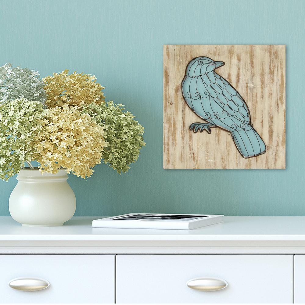 Stratton home decor stratton home decor bird wall decor for Bird decorations for home