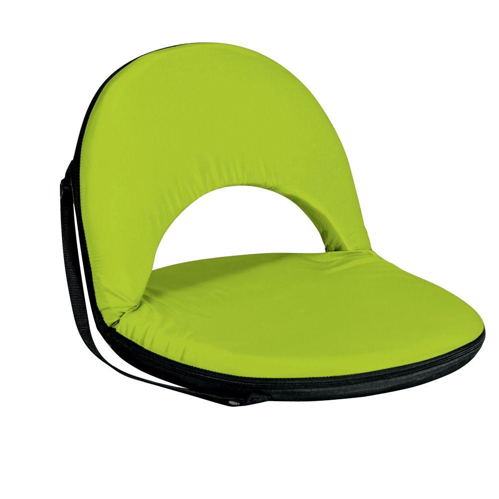 Superb Picnic Time Lime Green Oniva Recreational Reclining Seat Inzonedesignstudio Interior Chair Design Inzonedesignstudiocom