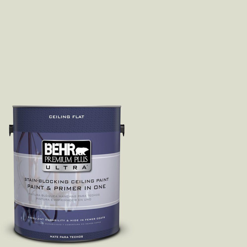BEHR Premium Plus Ultra 1-Gal. No.UL200-10 Ceiling Tinted to Desert Springs Interior Paint
