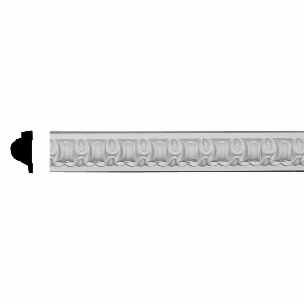 1-1/4 in. x 2-3/8 in. x 94-1/2 in. Polyurethane Capistrano Panel