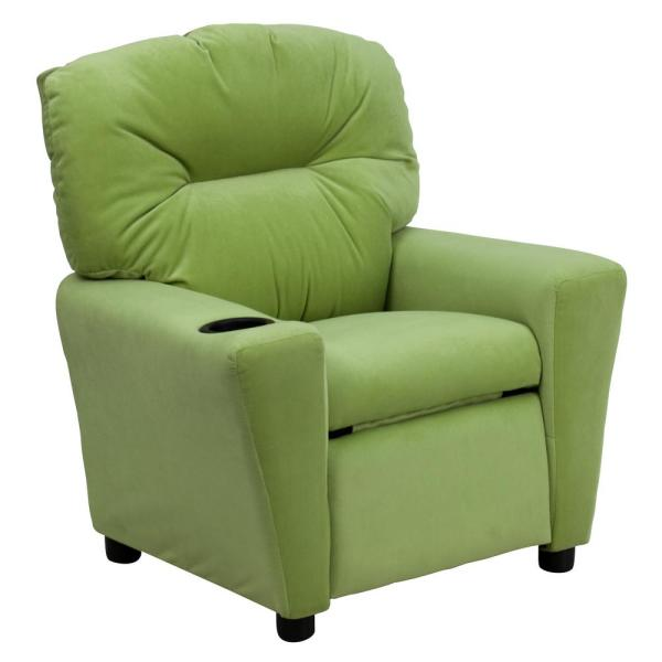 Carnegy Avenue Avocado Microfiber Recliner CGA-BT-4950-AV-HD