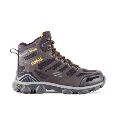 Crossfire Mid Men Black Kevlar Aluminum Toe Athletic Work Boot