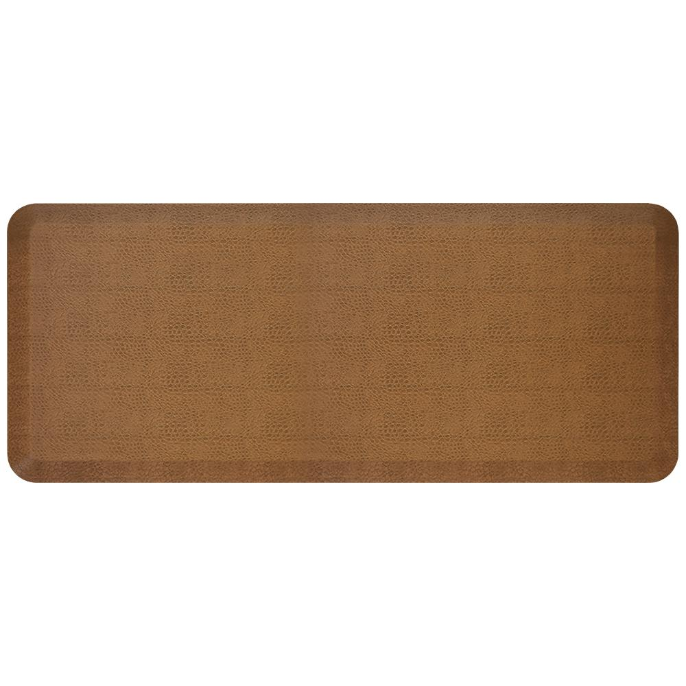 Pebble Wheat 20x32-Inch NewLife by GelPro Designer Comfort Mat