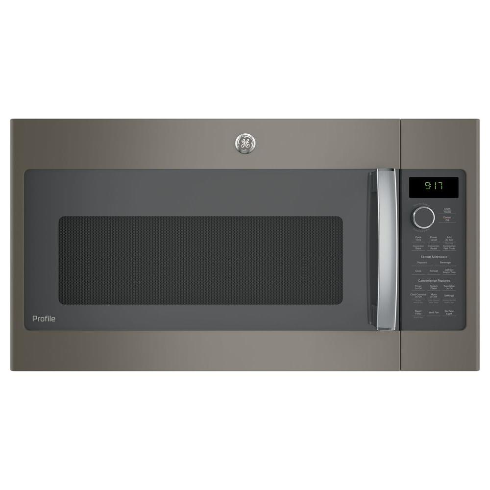 GE Profile 1.7 Cu. Ft. Convection Over The Range Microwave