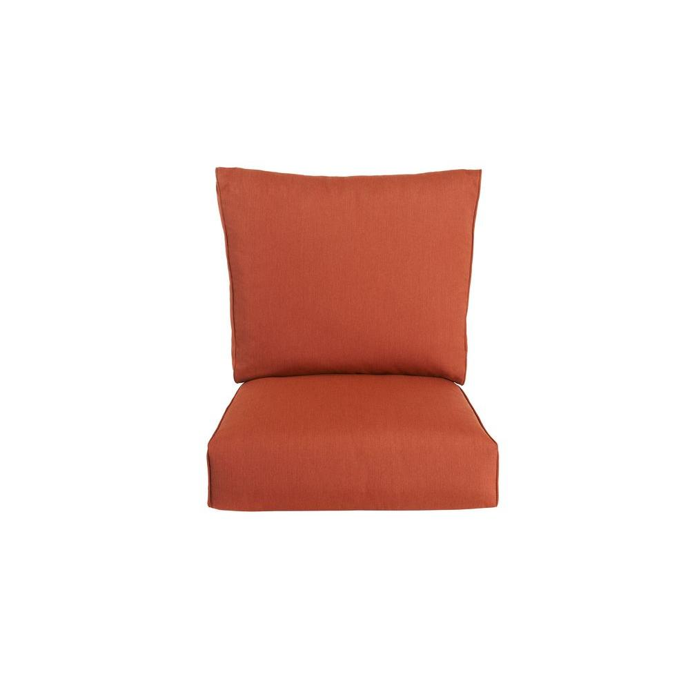 Highland Replacement Outdoor Motion Lounge Chair Cushion in Cinnabar
