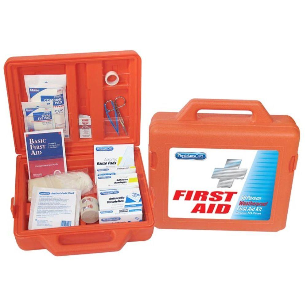 PhysiciansCare 172-Piece Weatherproof First Aid Kit - 50 Person