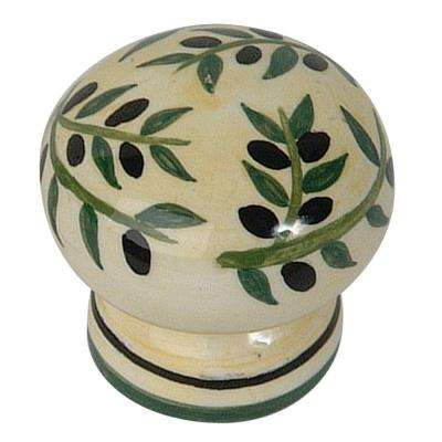 Ceramic Collection 1-3/4 in. Mixed Cabinet Knob