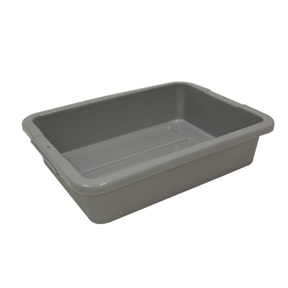16 Qt. Bus/Utility Box in Grey