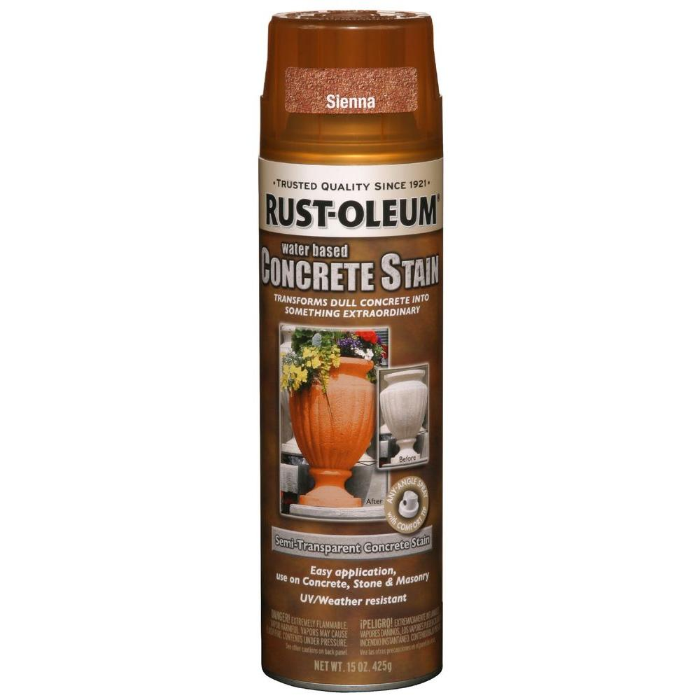Rust Oleum Küchenfarbe: Rust-Oleum Concrete Stain 15 Oz. Sienna Spray Paint (Case