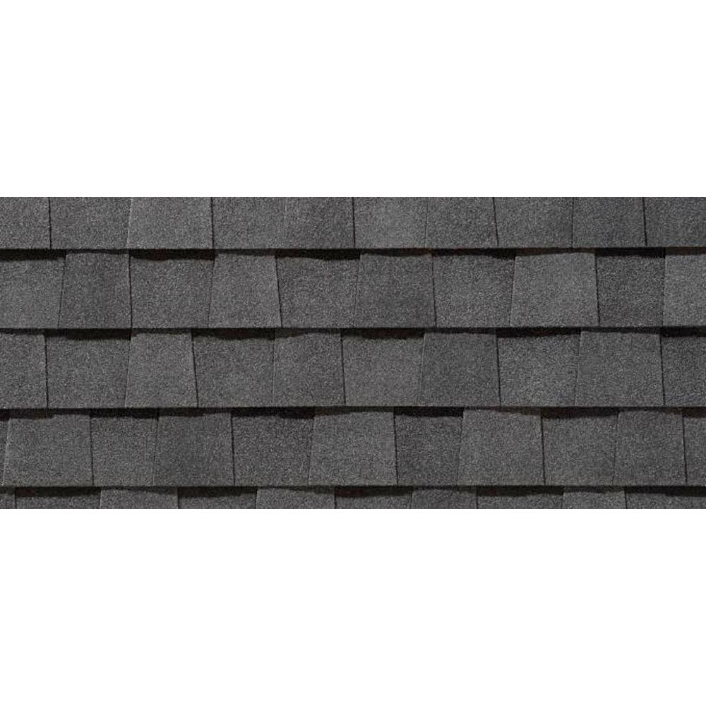 Certainteed Ct Landmark30 Ar 13 50 In X 39 Moire Black Architectural Shingles