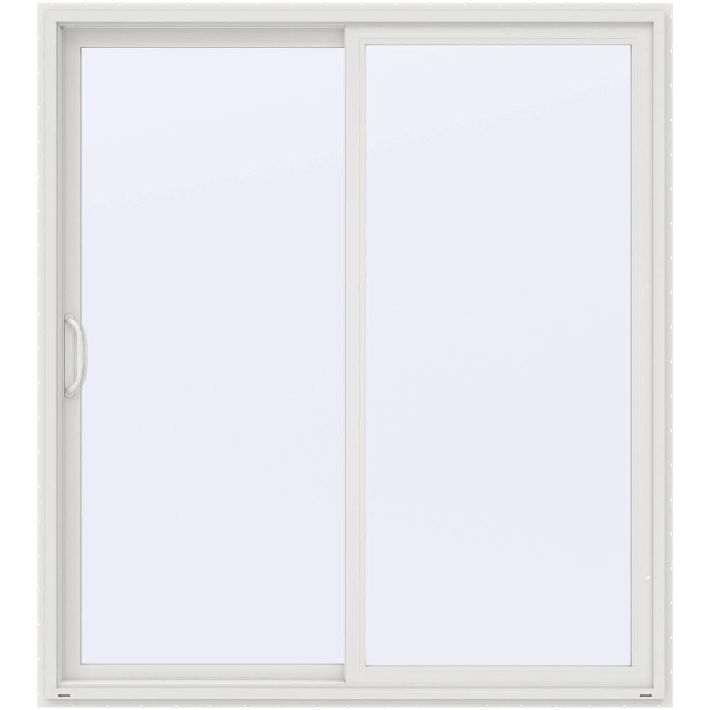 Jeld Wen 72 In X 80 In V 4500 White Prehung Left Hand