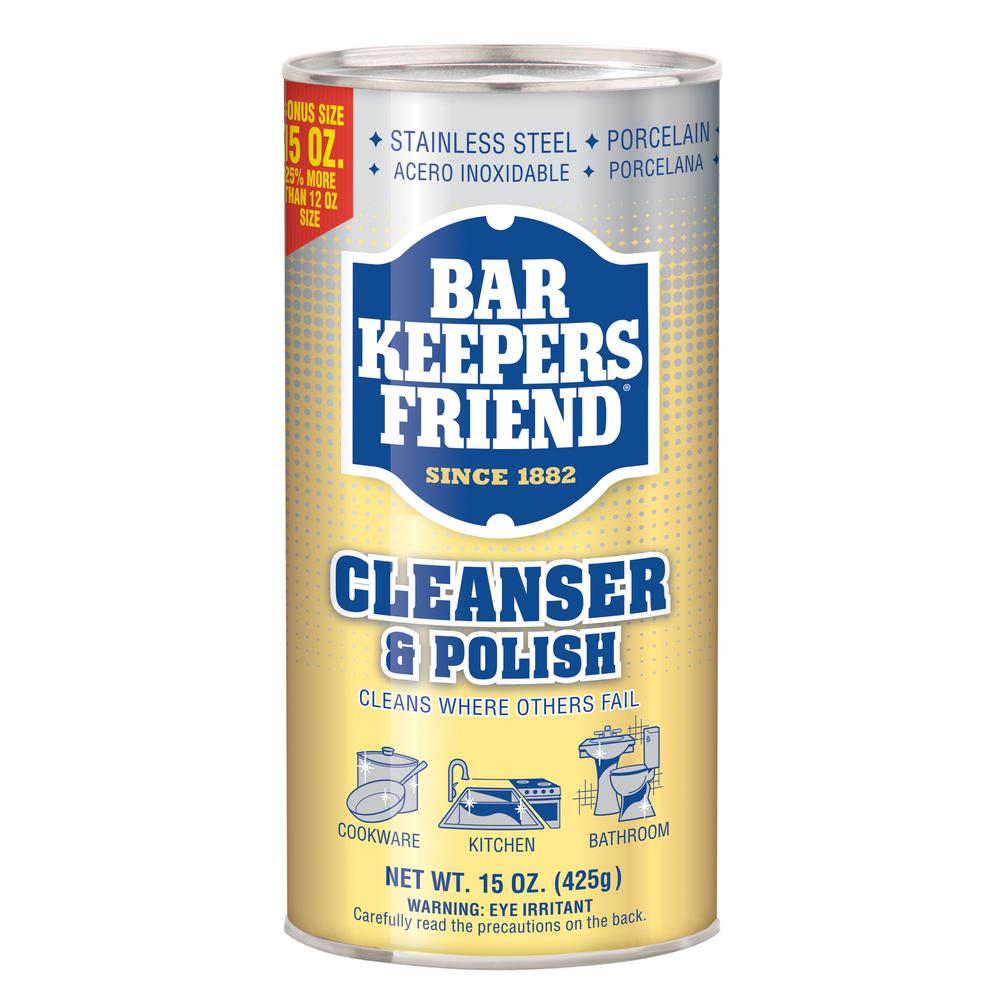 Bar Keepers Friend 15 Oz. All Purpose Cleanser And Polish