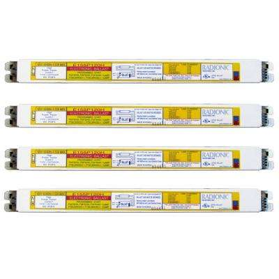 54-Watt 1-Lamp T5 High Power Factor Electronic Replacement Ballast (4-Pack)