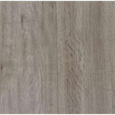 Embossed Oak Gray 7 in. Wide x 48 in. Length Click Lock Luxury Vinyl Plank (23.36 sq. ft. / case)
