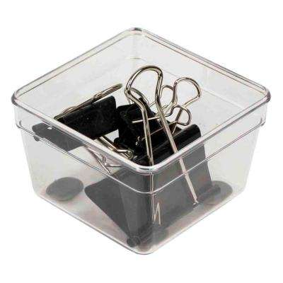 3 in. x 3 in. Plastic Drawer Organizer