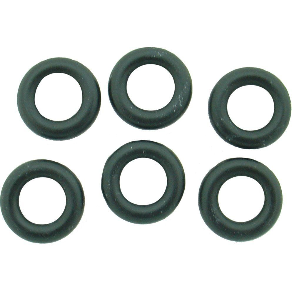 PartsmasterPro 9/16 in. O.D. x 5/16 in. I.D. #231 Rubber O-Ring (6 ...