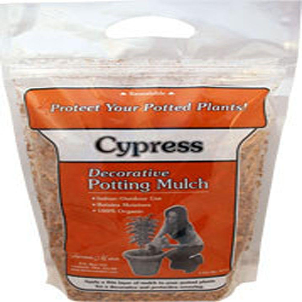 null 4 Qt. Cypress Mulch Resealable Bag