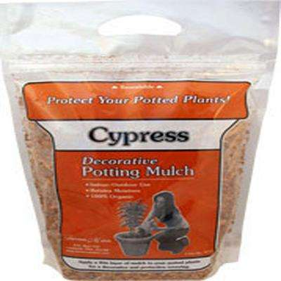 4 Qt. Cypress Mulch Resealable Bag
