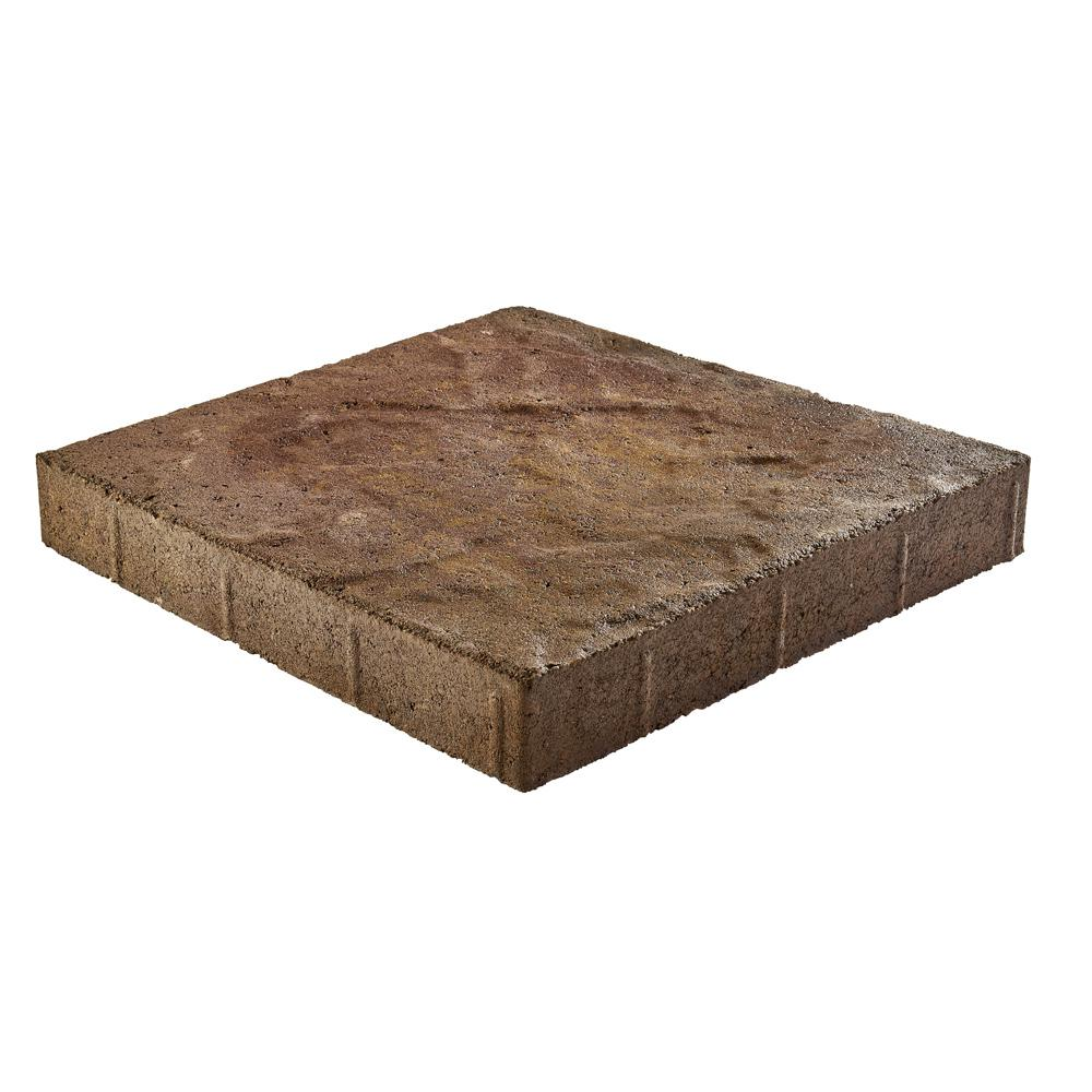Pavestone Taverna 16 in. L x 16 in. W x 50 mm H Square Sierra Blend Concrete Step Stone ( 72-Piece/124 Sq. ft./Pallet )