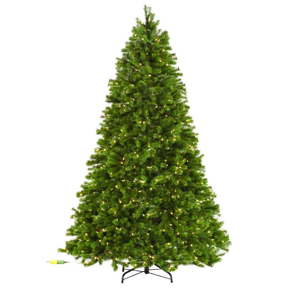12 Ft Pre Lit Christmas Tree Costco: Martha Stewart Living 7.5 Ft. Indoor Pre-Lit LED Downswept