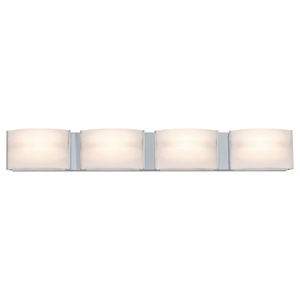 Filament Design Aleesia 4-Light Chrome Bath Light