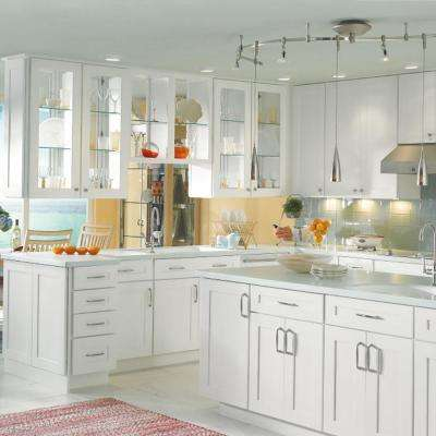 Classic Custom Kitchen Cabinets Shown in Transitional Style
