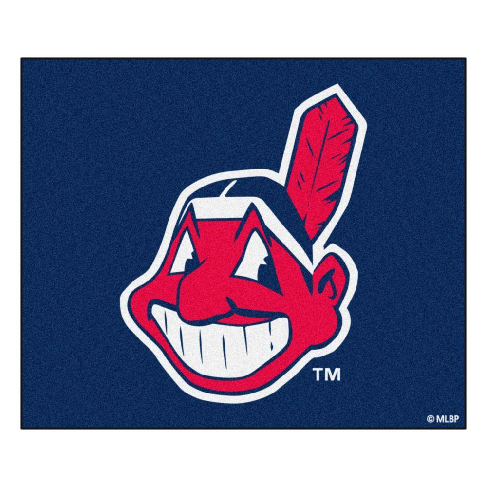 Fanmats Cleveland Indians 5 Ft X 6 Ft Tailgater Rug 6375