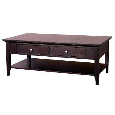 Ferndale Espresso Coffee Table