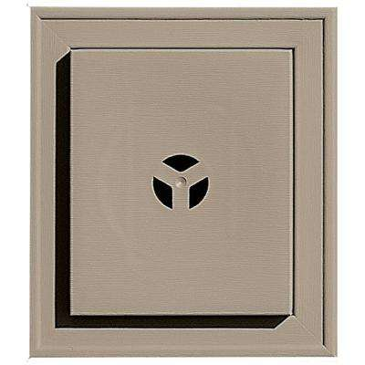 7 in. x 8 in. #095 Clay Square Mounting Block
