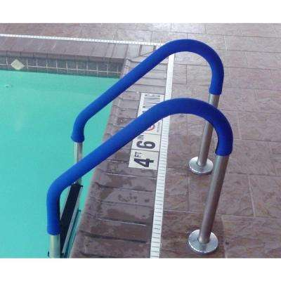 10 ft. Grip for Pool Handrails in Blue