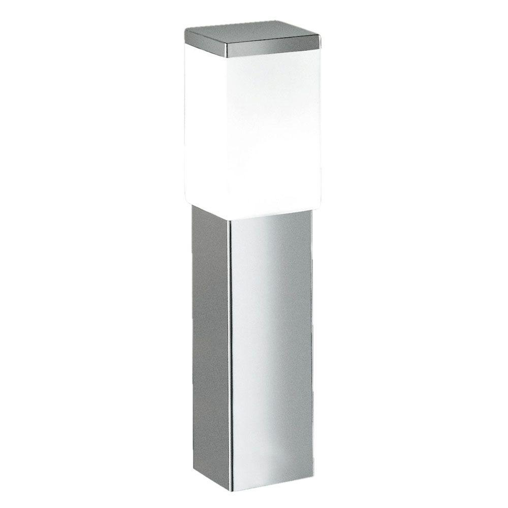 Eglo calgary light stainless steel outdoor post lamp