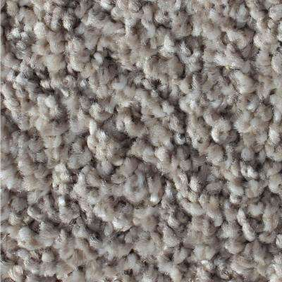 Vintage Elements Sterling Texture 24 in. x 24 in. Residential Carpet Tile (10 Tiles/Case)