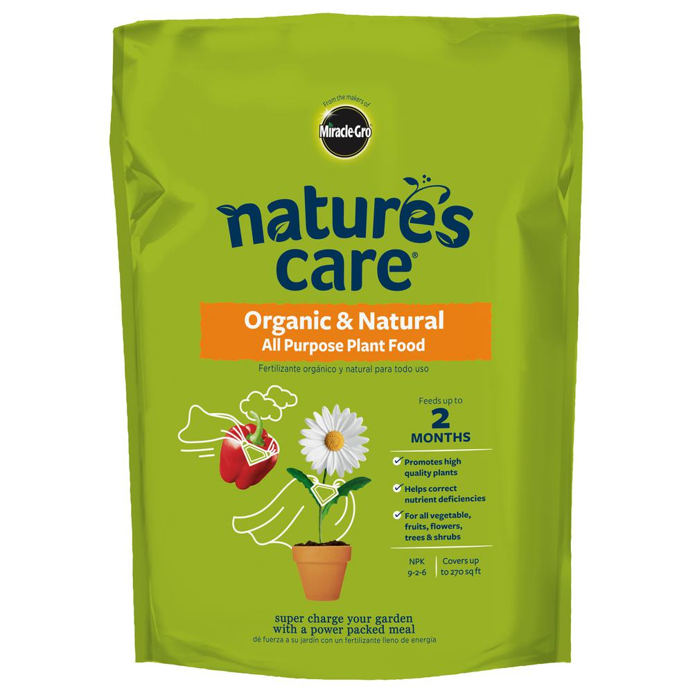 Nature's Care 3 lb. Organic All Purpose Plant Food