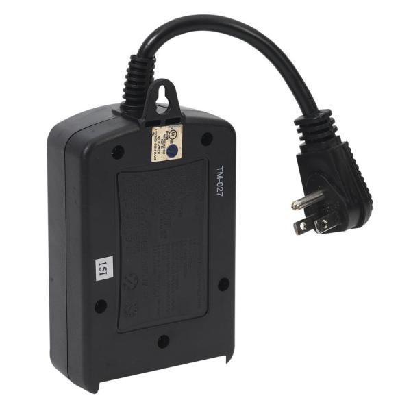 Intermatic 1000 Watt Outdoor Timer With, Outdoor Timer For Lights Home Depot