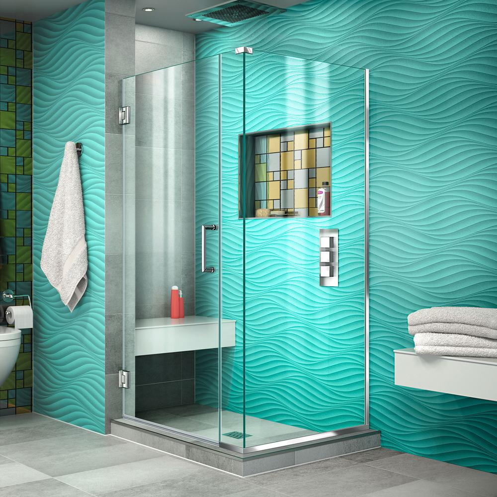 Corner Shower Doors - Shower Doors - The Home Depot