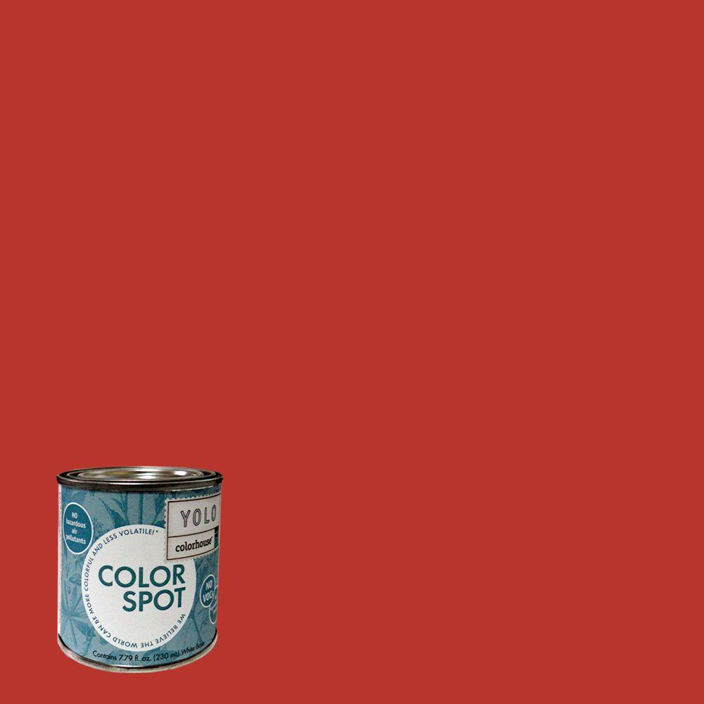 YOLO Colorhouse 8 oz. Create .04 ColorSpot Eggshell Interior Paint Sample-DISCONTINUED