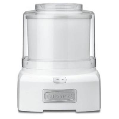 1.5 Qt. White Ice Cream Maker with Easy Lock Lid