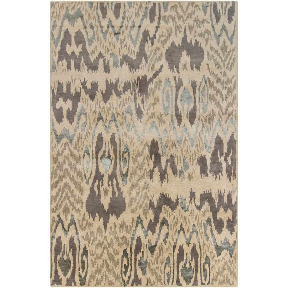 Chandra Rupec Beige Grey Brown 8 Ft X 11 Ft Indoor Area