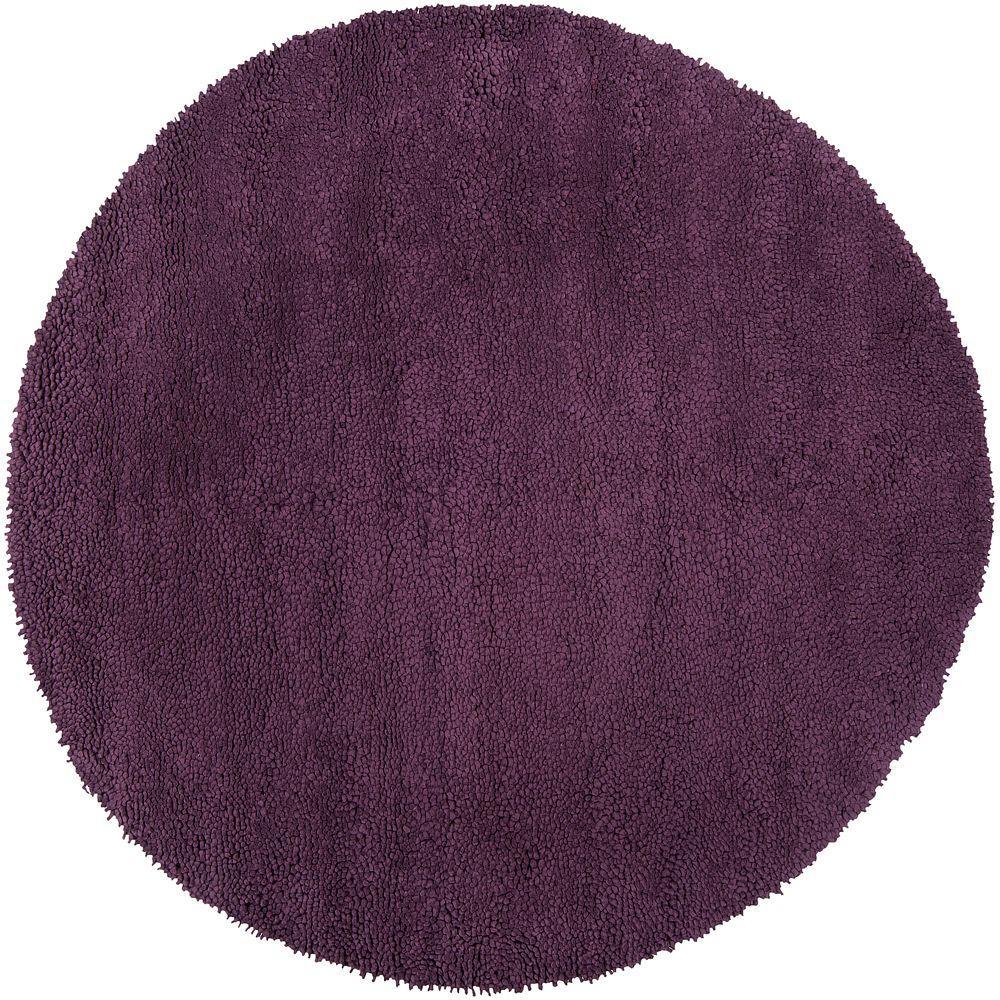 Purple Circle Rugs: Artistic Weavers Cambridge Purple 10 Ft. Round Area Rug