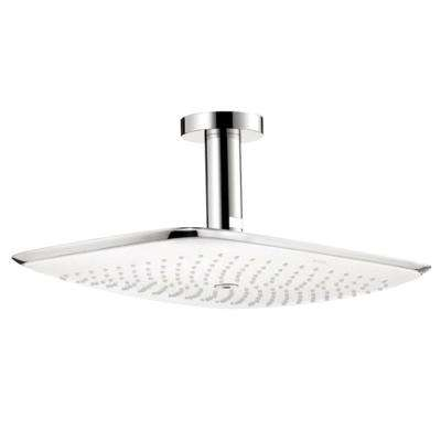 PuraVida 400 Air 1-Spray 15 in. Raincan Fixed Showerhead in Chrome