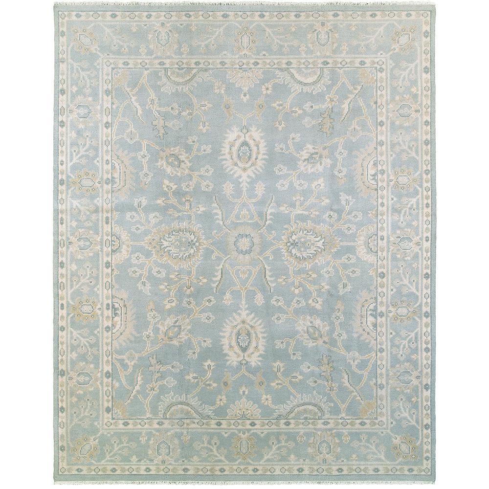 Kareena Medium Blue 12 ft. x 15 ft. Indoor Area Rug
