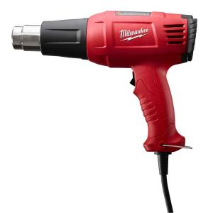 Click here to buy Milwaukee 11.6-Amp Variable Temperature Heat Gun by Milwaukee.