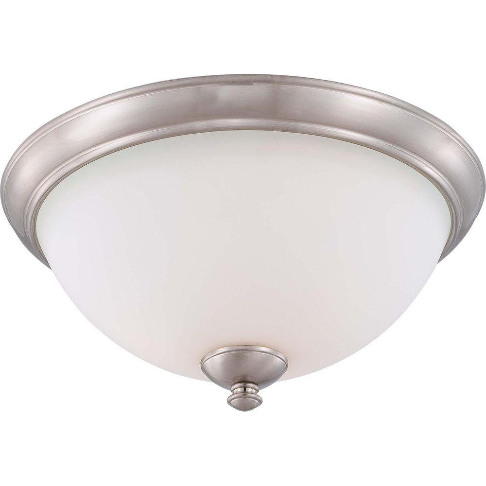 Kitchen Flush Ceiling Lights Frosted Glass