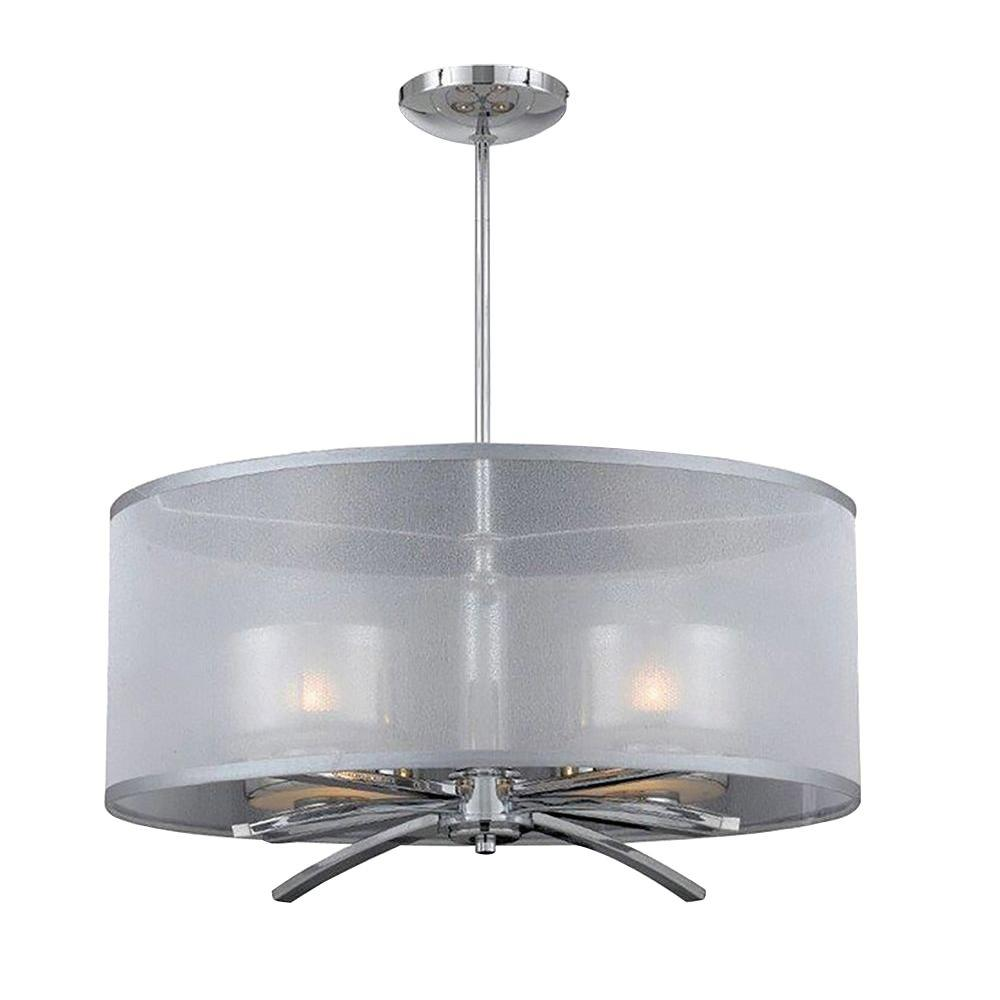 Itala 4-Light Chrome Pendant