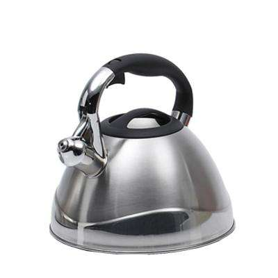 Crescendo 12.4-Cup Stovetop Tea Kettle in Silver