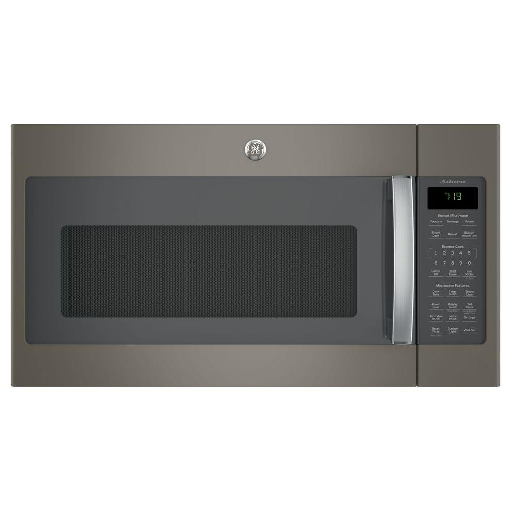 GE Adora 1.9 cu. ft. Over the Range Microwave in Slate (G...